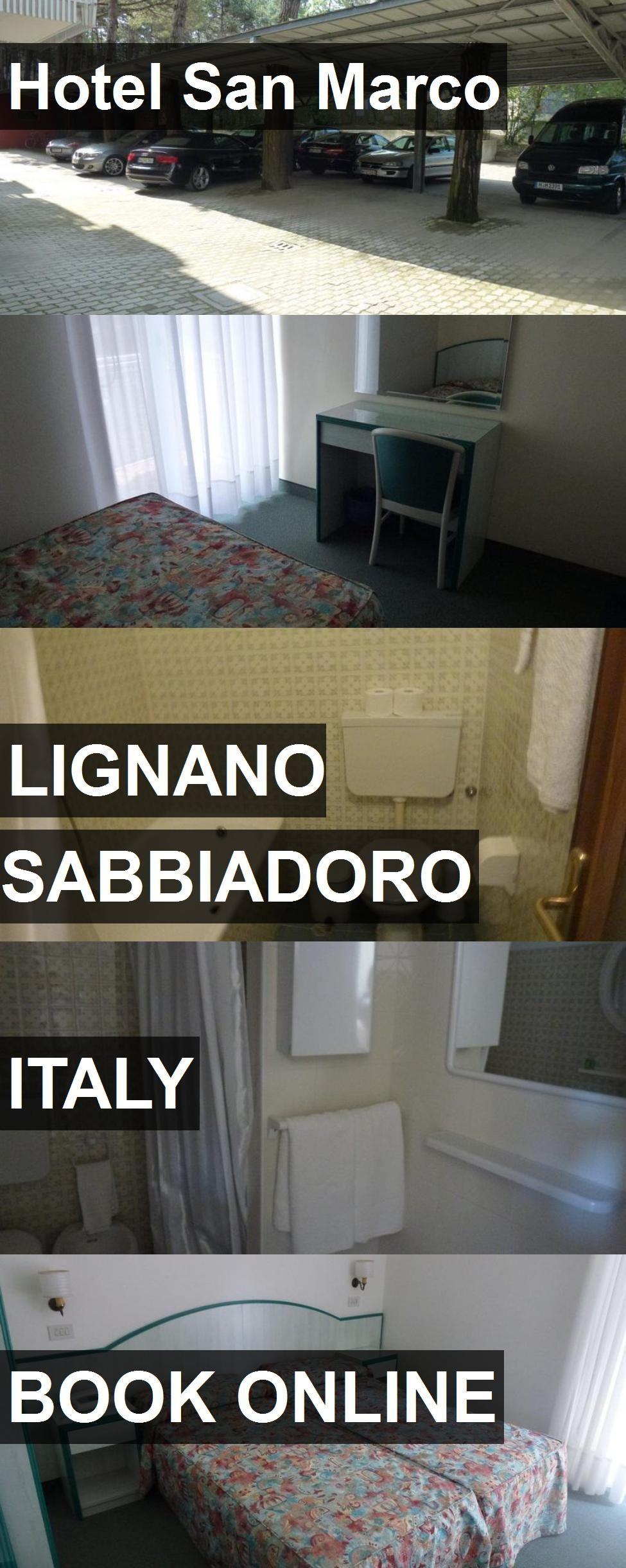 Hotel San Marco in Lignano Sabbiadoro, Italy. For more