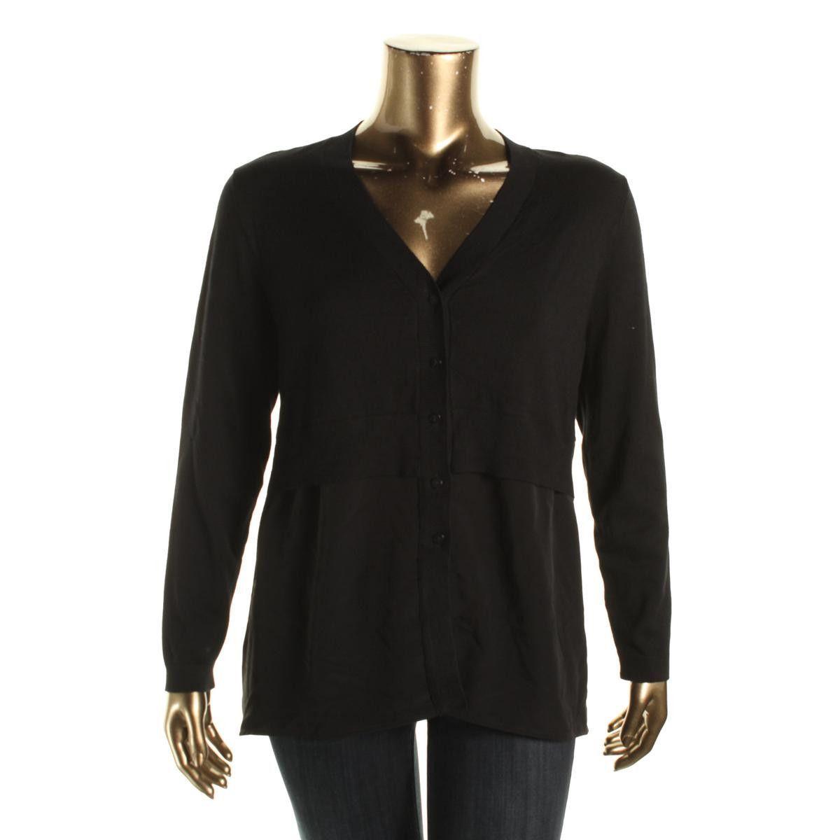 Alfani womens woven layered cardigan sweater products pinterest