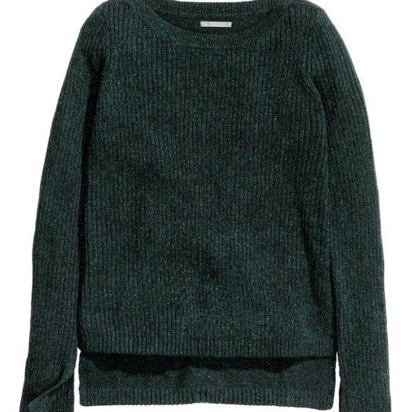 Glittery Knit Sweater Very nice sweater! Super comfy. Brand new! H&M Sweaters Crew & Scoop Necks