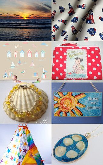 Sun And Sea by Katrin Repponen on Etsy--Pinned with TreasuryPin.com
