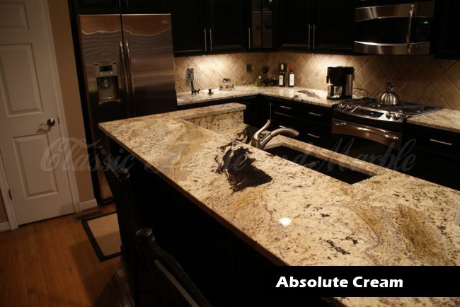 Cream Delicatus Granite Kitchens Clic Kitchen Countertops Richmond Va