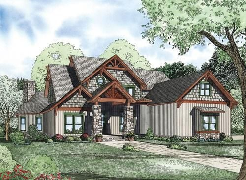 House Plan 110-00188 - Luxury Plan: 4,992 Square Feet, 6 Bedrooms ...