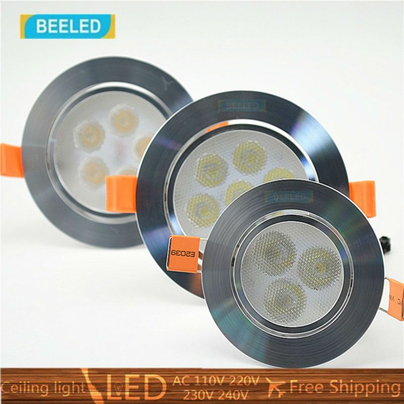 Click Image To Buy 6x Led Spotlight Bulb Lamp 3w 5w 7w Dimmable Led Ceiling Light Free Shipping War Dimmable Led Ceiling Lights Spotlight Bulbs Led Spotlight