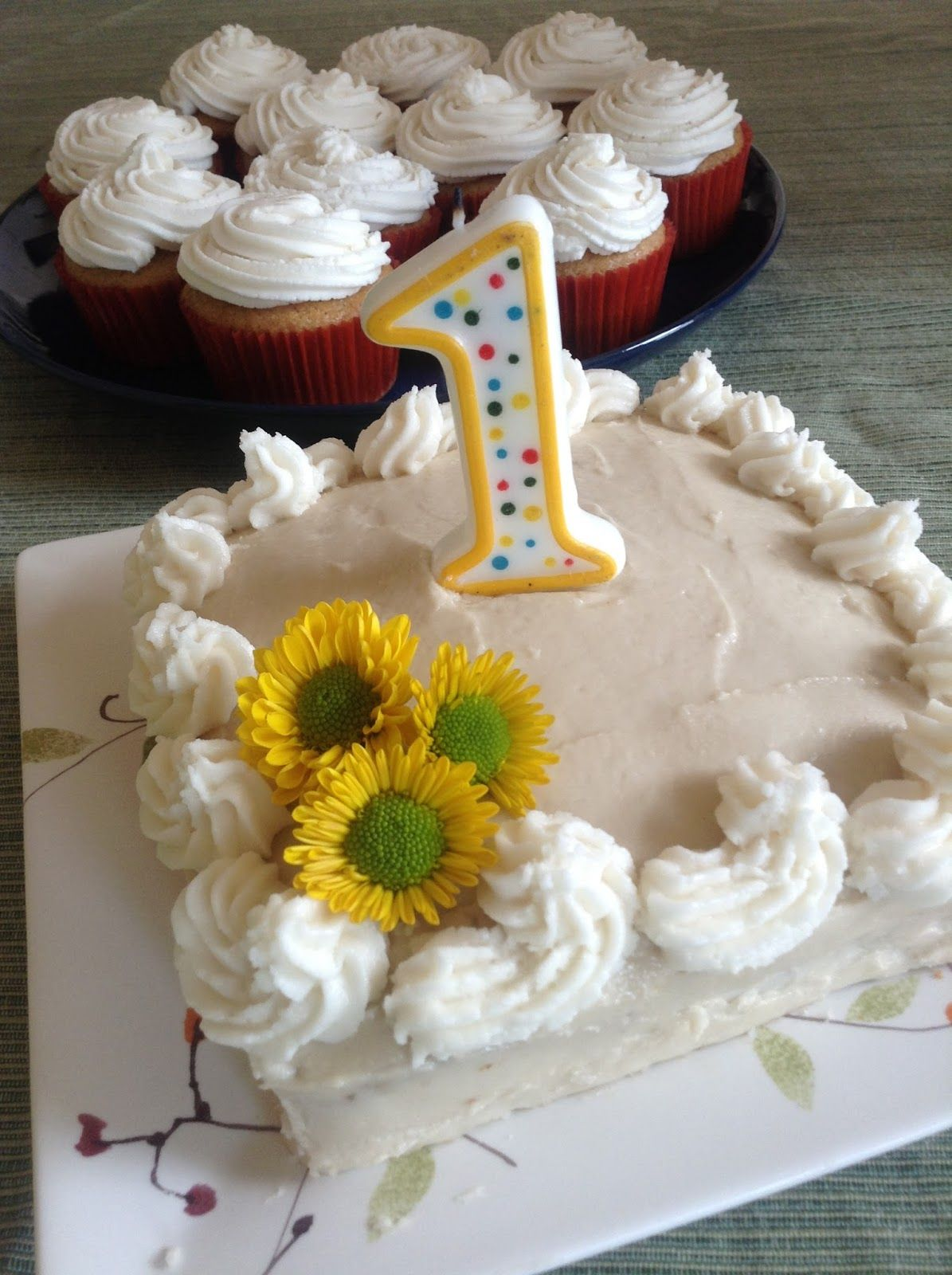Healthy first birthday cake vegan and gluten free from