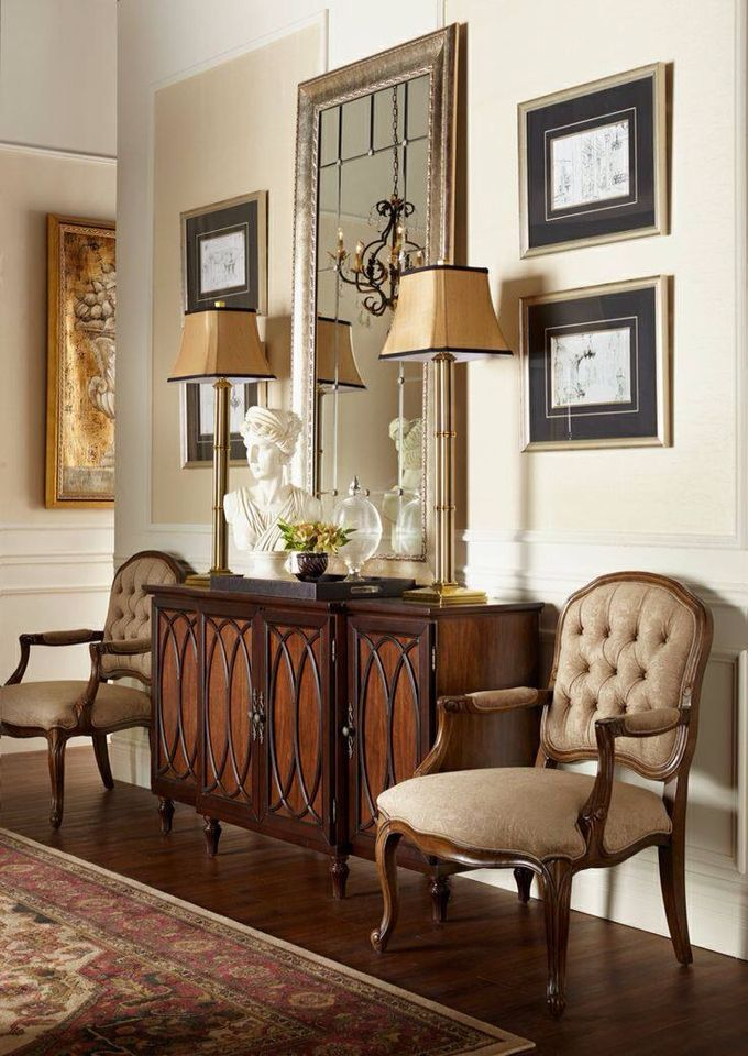 Warm And Classic Style Home Decor Furniture Home House Interior