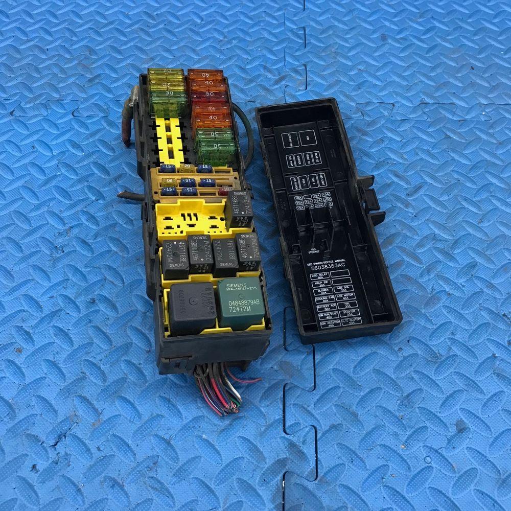 Genuine Mopar Dodge Wire Wiring Junction Fuse Block Relay Panel Box Car P56009742ag