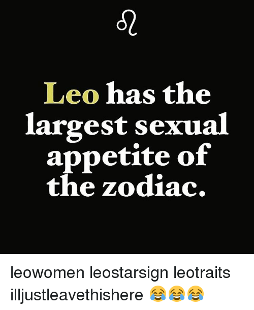 astrological leo sexuality