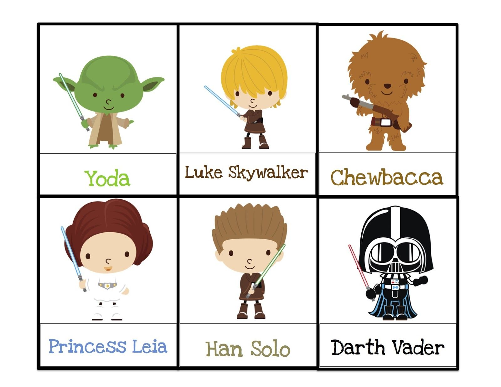 Free Printables From Star Wars For Christmas