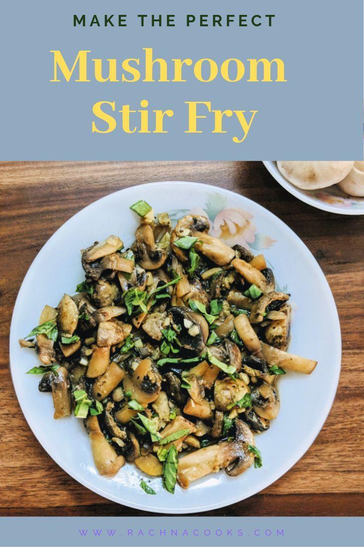 Easy Mushroom Stir Fry