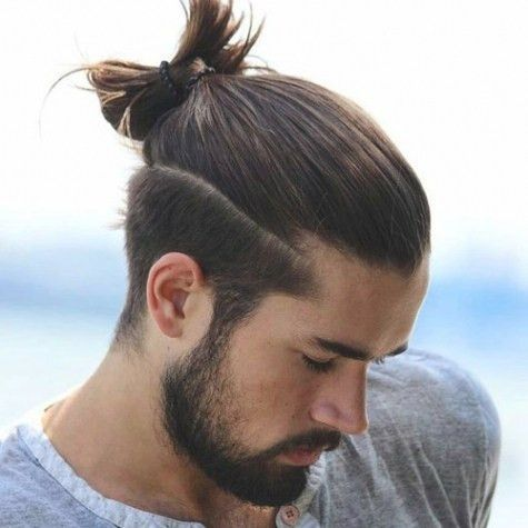 Professional Long Hairstyles Male Curly Hair Men Straight With Beard For Longhairstyles Formen Menhairstyles