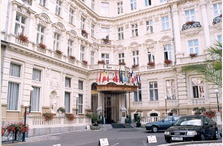 Grandhotel Pupp Karlovy Vary Czech Republic From The Movie Last Holiday Grand Hotel Places To Travel Travel Photos