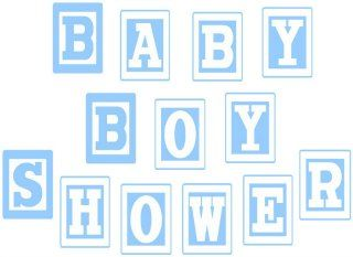 Free Printable Baby Boy Baby Shower Banner Find All The Letters You