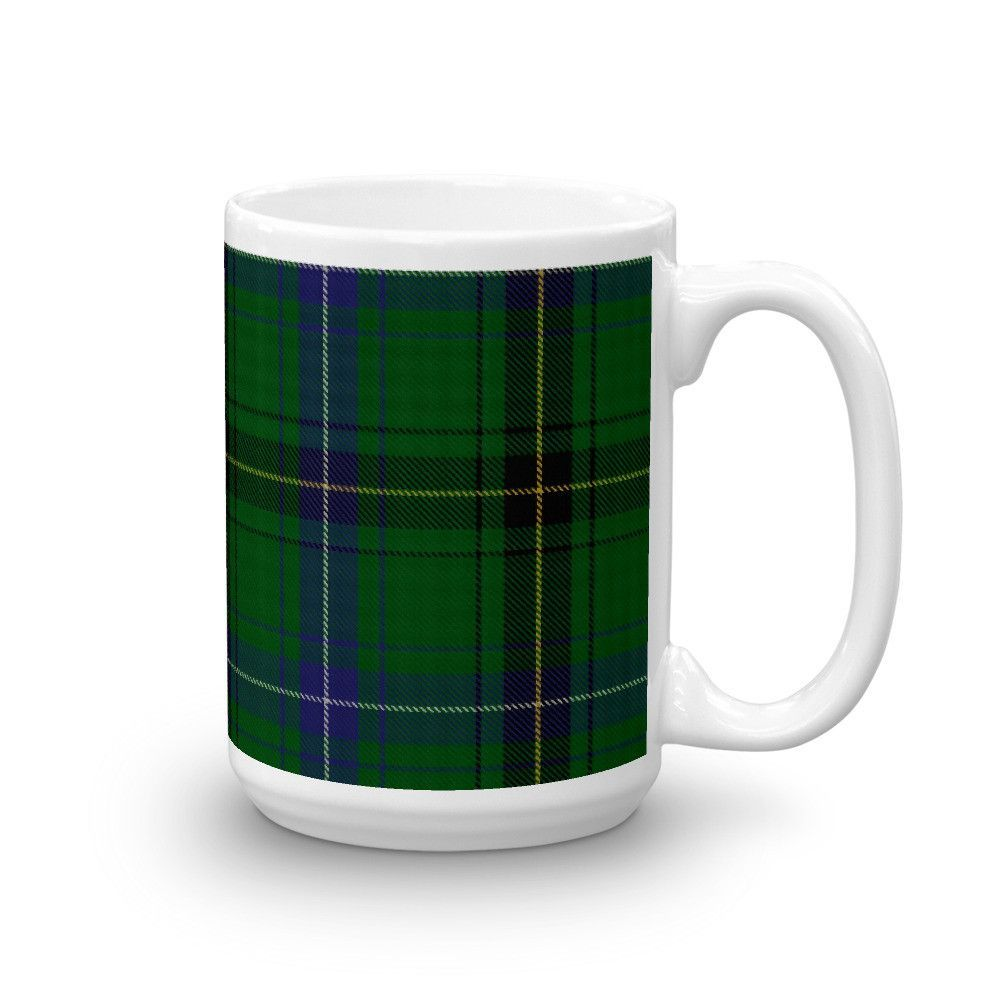Henderson Scottish Clan Tartan Plaid Coffee Mug