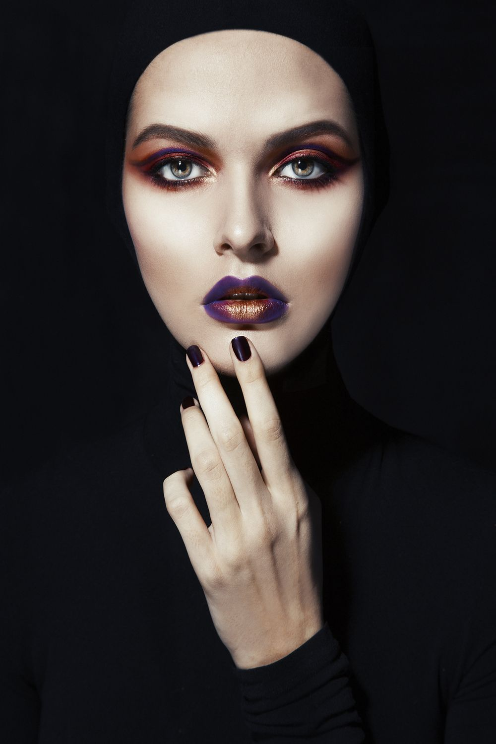 Olga Selivanova Cosmic Colors With Images Photoshoot Makeup