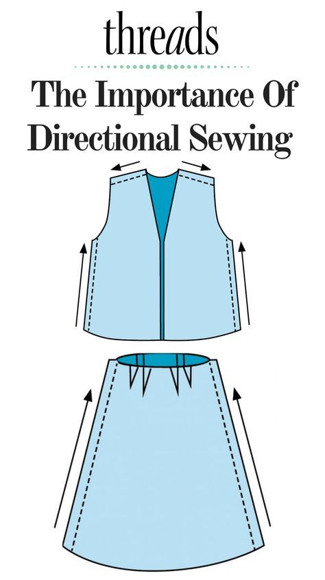Sewing Tip: How and Why to Sew Directionally - Threads