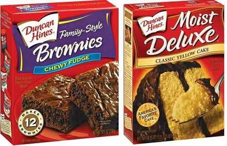 picture relating to Duncan Hines Coupons Printable named Great! Just take Duncan Hines Cake and Brownie Merge Simply $0.62 At