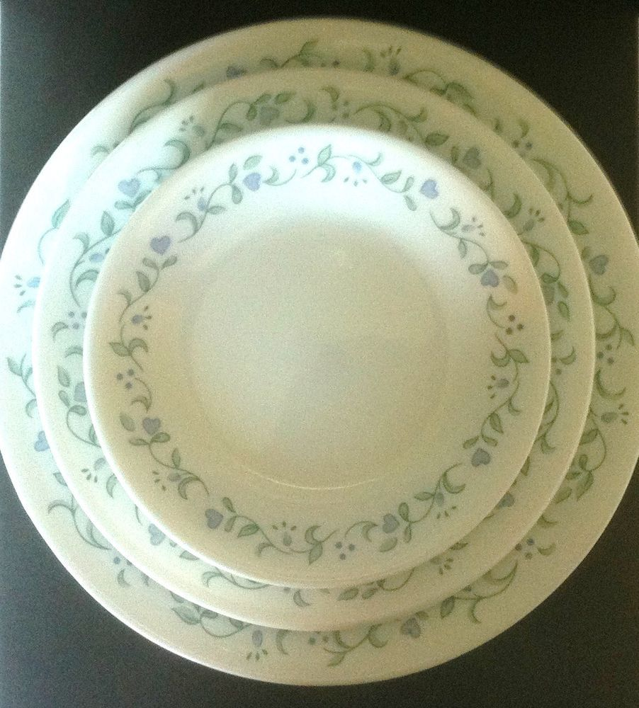 Corelle COUNTRY COTTAGE Pattern 8 Dinner Plates 4 Luncheon Plates 8 Bread #Corelle & Corelle COUNTRY COTTAGE Pattern 8 Dinner Plates 4 Luncheon Plates ...