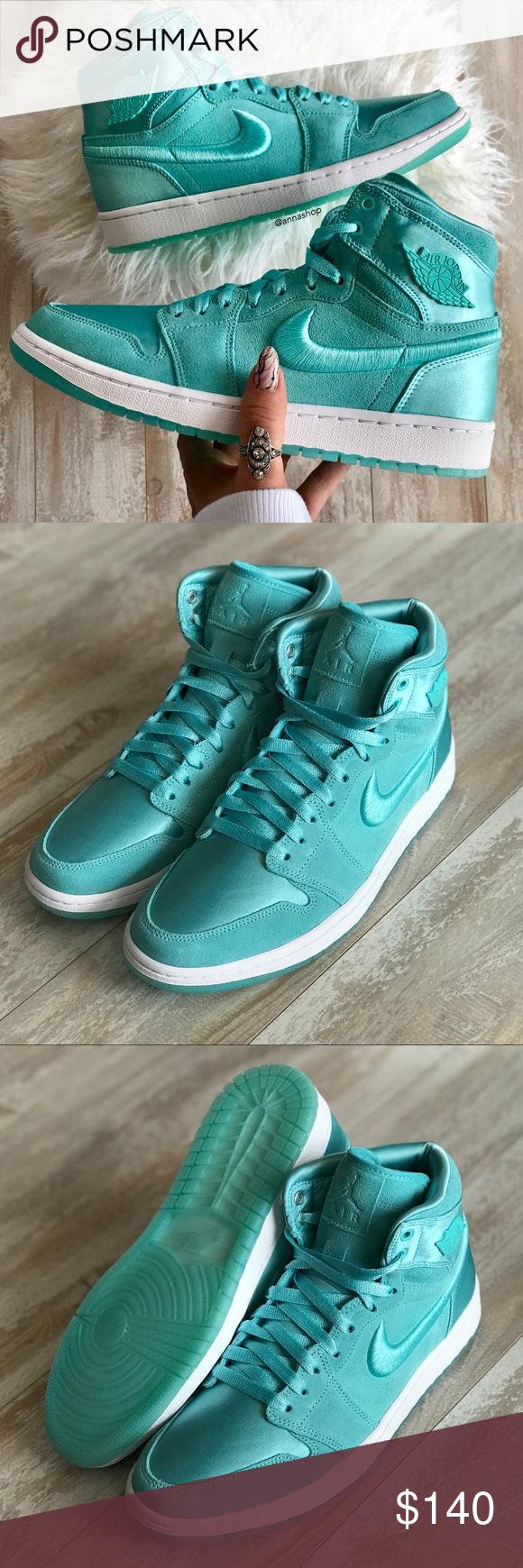cb18a30138e Spotted while shopping on Poshmark  NWT Nike Jordan 1 retro high aqua!!   poshmark  fashion  shopping  style  Nike  Shoes
