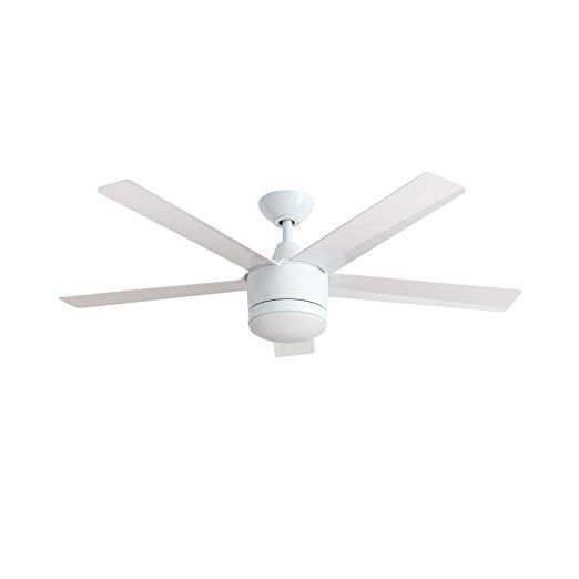 Merwry 52 in led indoor white ceiling fan ceiling fan parts ceiling fan mozeypictures Images