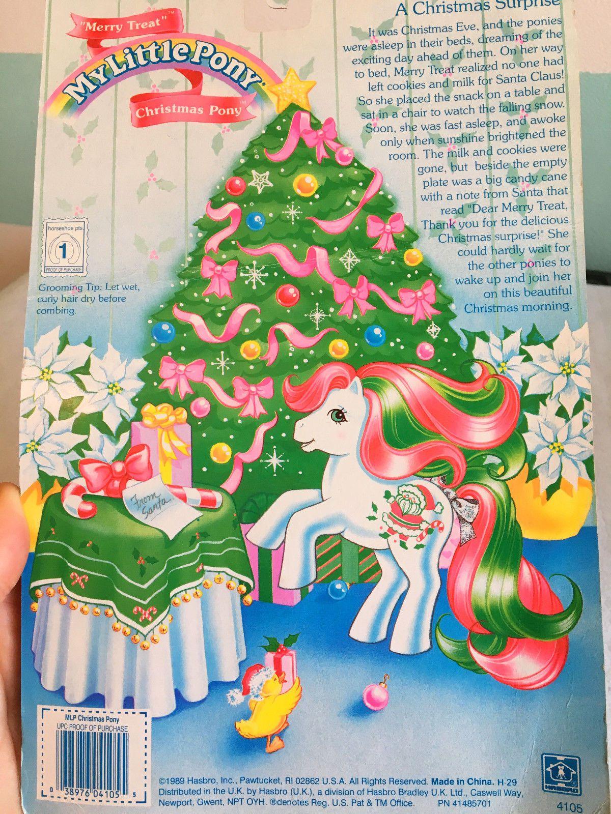 G1 My Little Pony Christmas Merry Treats   eBay