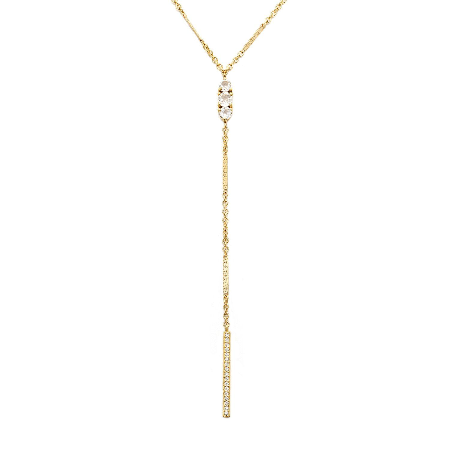 Wholesale Jewelry Gold Filled Circa Necklace White Topaz Jewelry Jewelry Wholesale