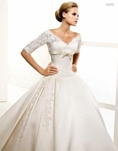 Que tipos de vestidos de novia existen