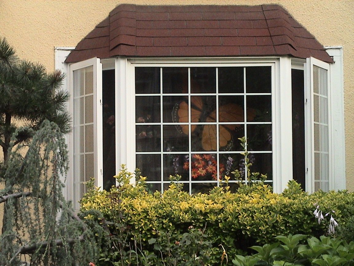 Bay windows outside design custom windows exterior for Window design bangladesh
