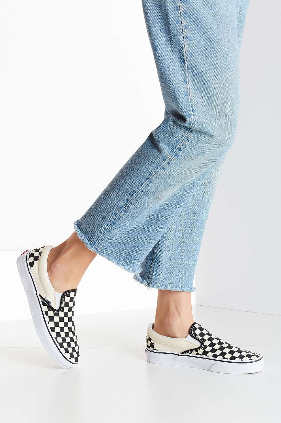 73251914609 Vans Checkerboard Slip-On Sneaker