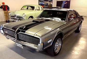 Pin On Bad Cats Old Mercury Cougars 67 68 The Best Years