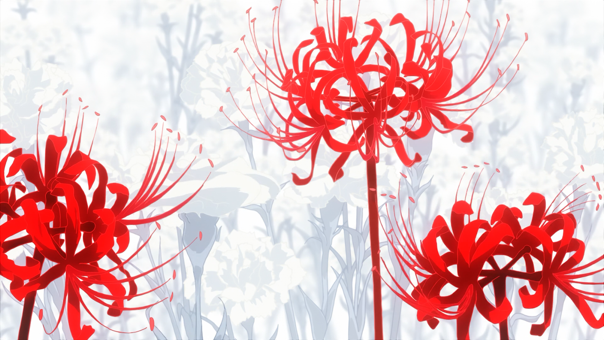 Red Spider Lily Tokyo Ghoul Tokyo Ghoul Flower Tokyo Ghoul Wallpapers Lilies Drawing