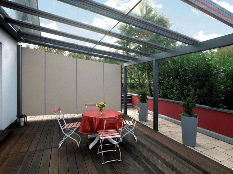 Brise Vue Retractable Pour L Espace Outdoor Nouveautes Et Tendances Maison 2018 Terrasse Bois Composite Design Exterieur Pergola Alu