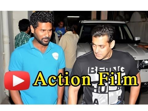 Salman Khan Action Movie With Prabhudeva Again The undisputed King of the Box Office, Salman Khan had started a new innings in his life with the blockbuster Wanted directed by Prabhudeva. Salman and Prabhudeva are teaming up again in an action movie.