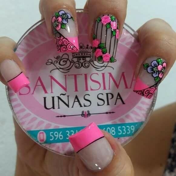 Uñas lindas   uñas eyz   Pinterest   Uñas lindas, Diseños de uñas y ...