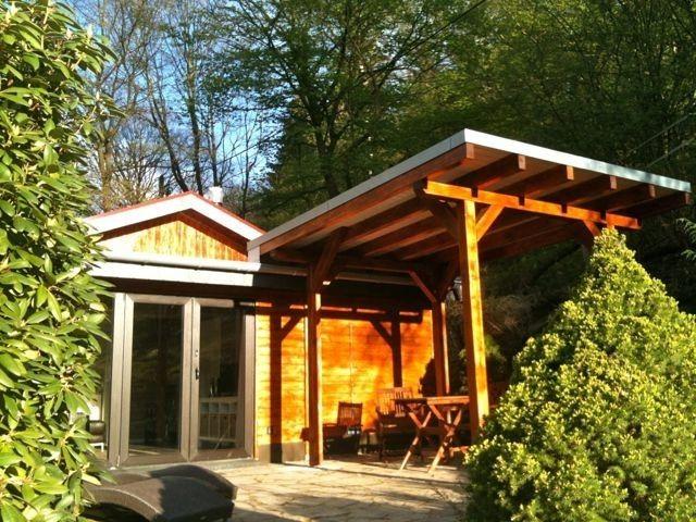 Idyllisches Holzhaus am See in Heimbach (Chalet zum