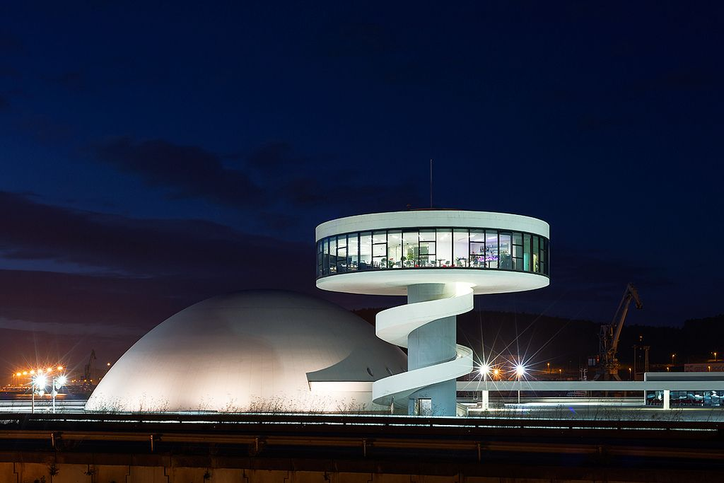 Centro Niemeyer, Avilés, Spanje