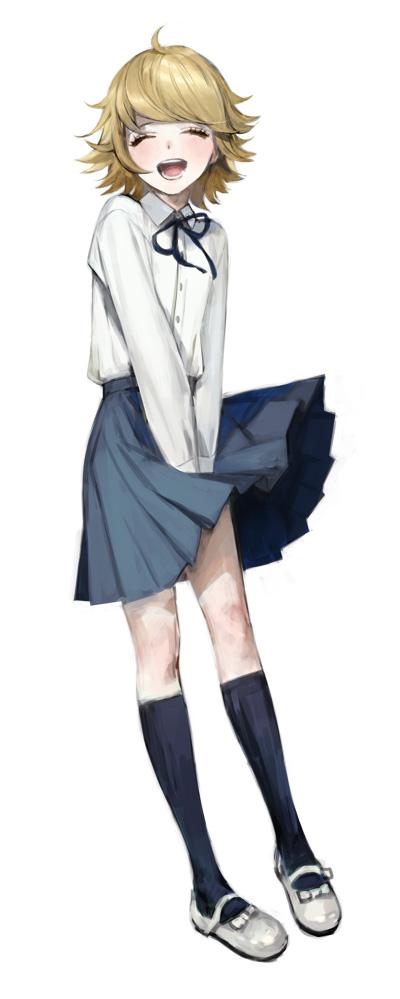 Trans Anime Characters Photo Danganronpa Chihiro Danganronpa Anime