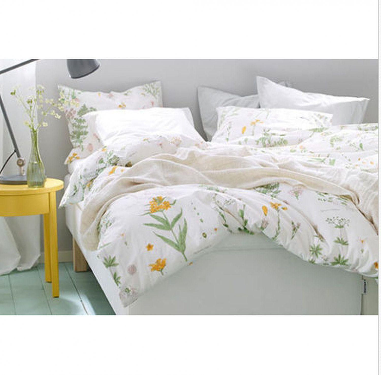 Ikea Bedroom Sets King Two Bedroom Anime Bedroom Furniture Made Out Of Pallets Bedroom Design Ideas App: IKEA STRANDKRYPA KING Duvet COVER Pillowcases Set
