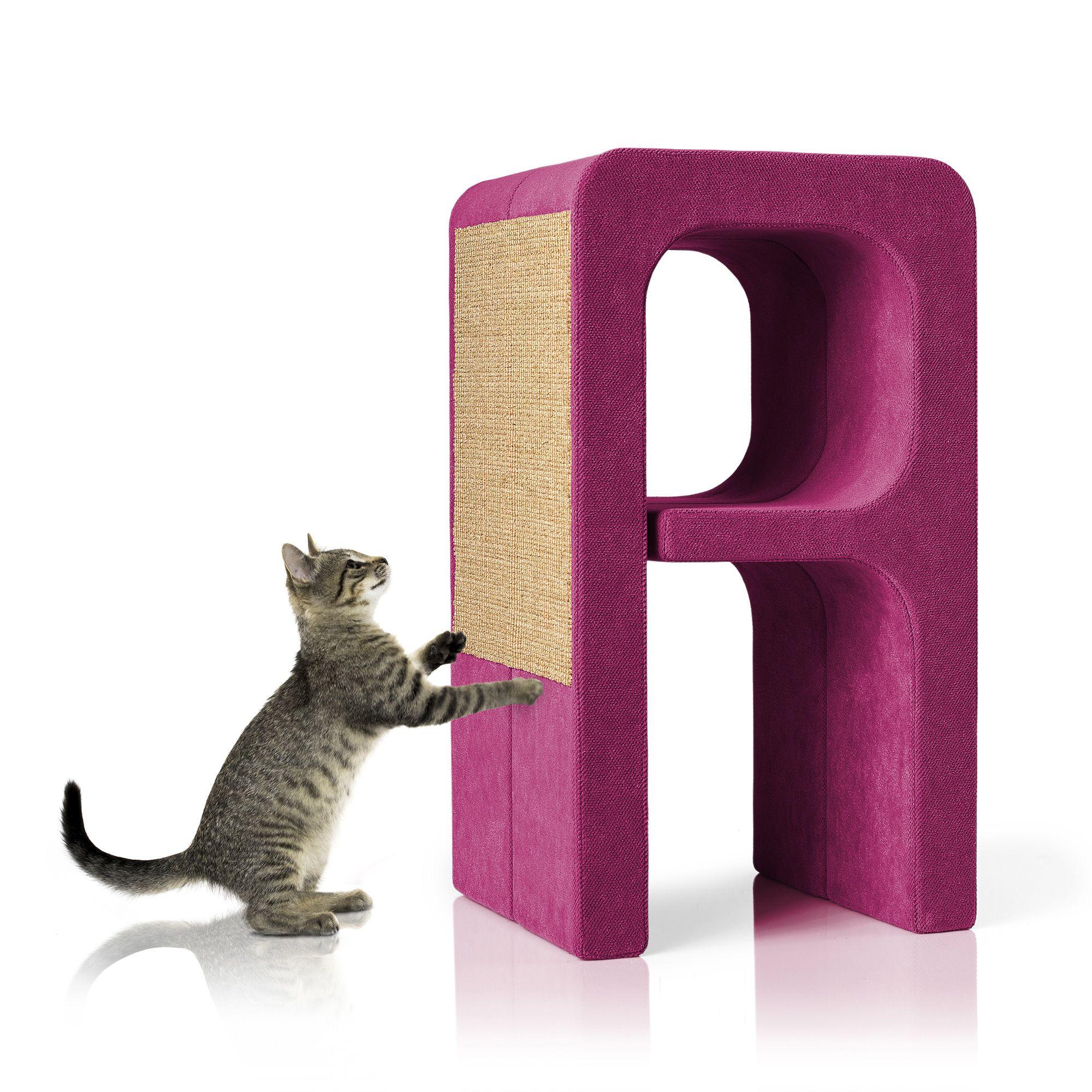 Buchstaben #Kratzbaum A In Pink