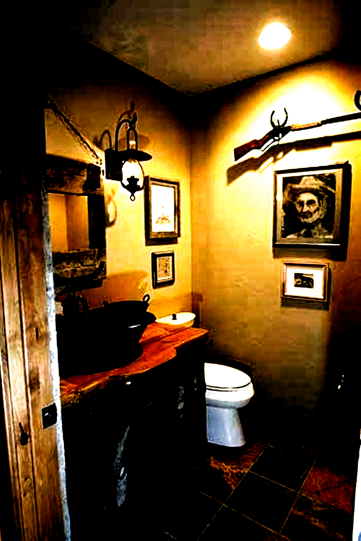Photo of Country Western Bathroom Decor Awesome Cabin Bathroom Ideas – Nicaea # bathroo…