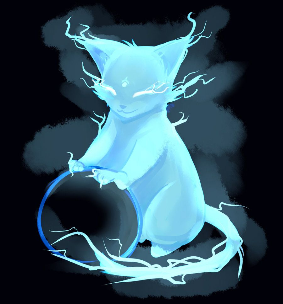 Image Gallery Spirit Cat Mystical Animals Creature Art Fantasy