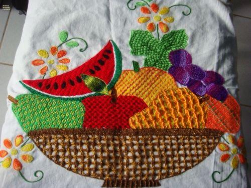 Worksheet. Canastas de frutas para pintar en tela  Imagui  bordado
