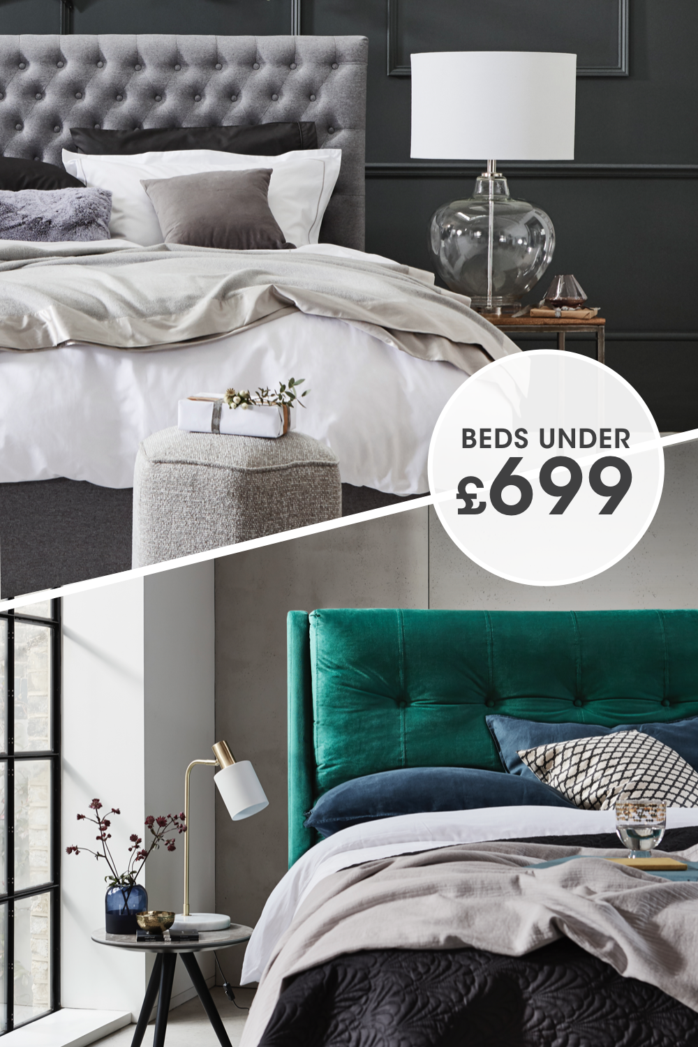 Enjoy A More Stylish Night S Sleep For Less Browse Our Beautifully Affordable Beds In 2020 Bed Affordable Bedding Furniture