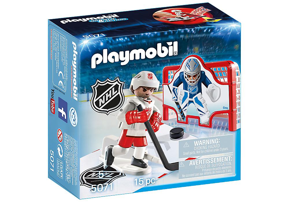 Playmobil 5071 Nhl Shooting Pad Anglo Dutch Pools And Toys Nhl Nhl Hockey Hockey