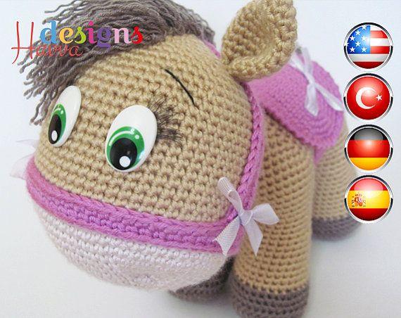 Amigurumis Caballitos A Crochet : Pattern pony amigurumi crochet patrones