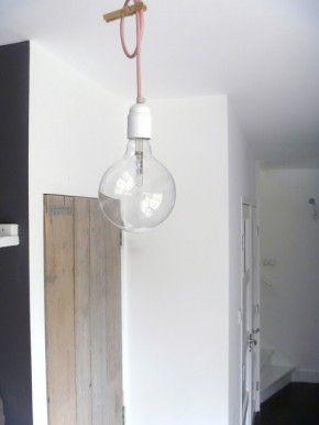 Hal. D.I.Y. lamp    www.lekkerfrisss.blogspot.com