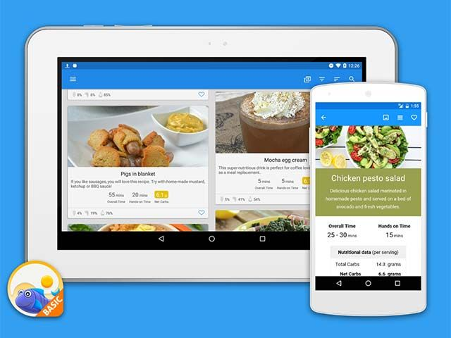 ketodiet basic for android is out and you can now download it on google play