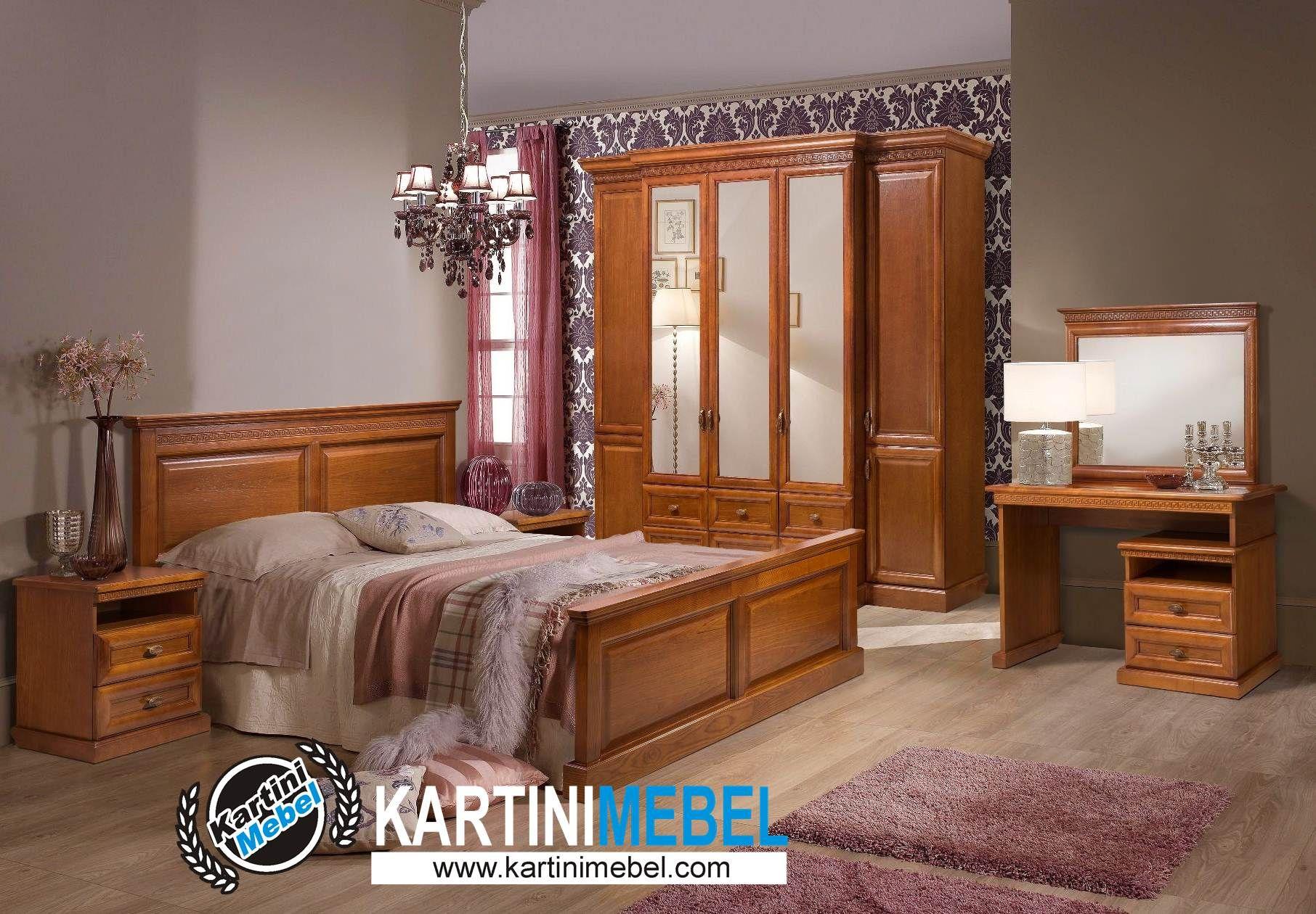 Harga set tempat tidur kayu jati minimais