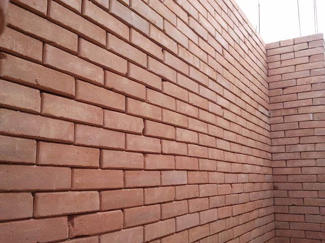 Exemplo de tijolos de má qualidade, fora do padrão