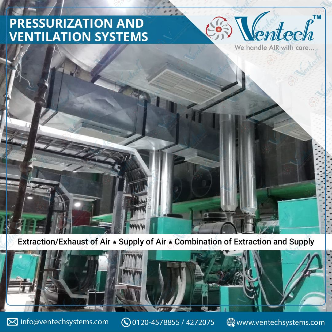 Pressurization and Ventilation Systems Air ventilation