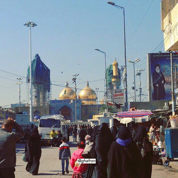 الكاظمية المقدسة ٢ Baghdad Taj Mahal Landmarks